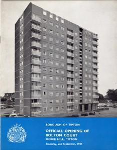 Bolton Court Tipton 1965