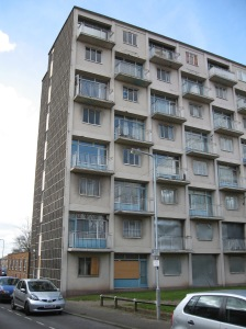 Tower blocks as heritage: although demolished in 2009, this block had been recognised as a locally listed building and an archaeological record was created of it