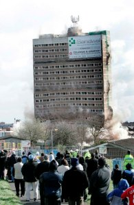 A programme of large-scale demolition has changed the skyline of the Black Country